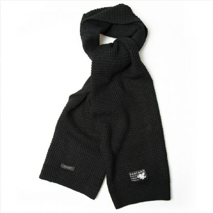 dfd4ea0e60396 Senlak Waffle Knit Scarf - Black .